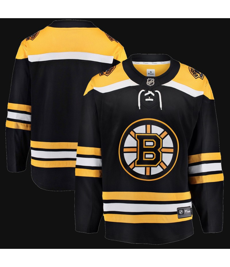 Boston Bruins Branded Breakaway Home Jersey - Black