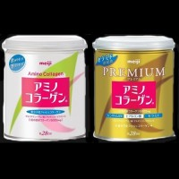 Meiji Preminum and Amino Collagen