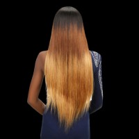 Beautyforever Malaysian 16-26 Inches T1B/4/7 Straight Ombre Human Hair Weave 3Bundles