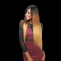 Beautyforever Ombre Malaysian Human Virgin Hair 3Bundles Straight T1B/4/7 3 Tones